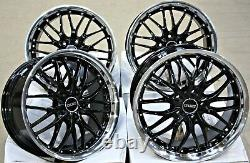 18 Cruize 190 Gblp Alloy Wheels For Opel Astra Adam Corsa E D H G+ Vxr