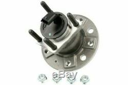 2x Rear Wheel Bearings For Opel Astra Vxr L08 V 2.0