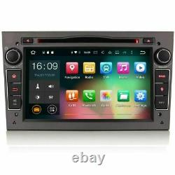 7 Gray Android 10.0 Sat Nav Gps Bt Wifi Dab Radio For Opel Astra H Mk5 Vxr