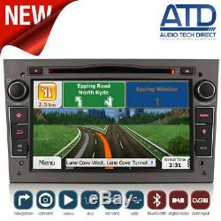 7 Sat Nav Gps Bt Radio Stereo DVD Player For Opel Astra H Mk5 Astra C D Vxr
