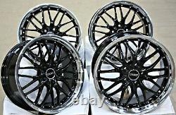 Alloy Wheels 18 Cruize 190 Gblp For Opel Astra Adam Corsa E D H G Vxr