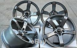 Alloy Wheels 18 Cruize Blade Gm Adam Opel Astra Mk5 & Vxr