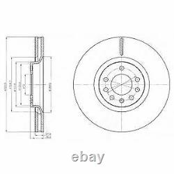 Axle Before Brake Discs - Set Plates For Opel Astra 2.0 Vxr 2009-2010
