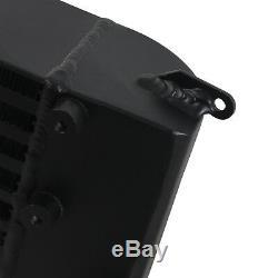 Black Front Mount Intercooler Alloy Fmic For Vauxhall Opel Astra Gtc Mk6 J Vxr