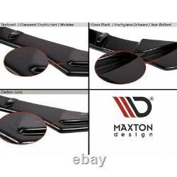 Blade Du Pare-chocs Avant Opel Astra J Opc / Vxr V. 2 Carbon Look