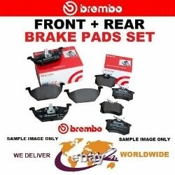 Brembo Front - Rear Axle Frein Set Plates For Opel Astra Gtc 2.0 Vxr