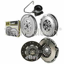 Clutch Kit And Luk Dmf With Csc For Opel Astra H 2.0 Turbo Cabriolet Twintop