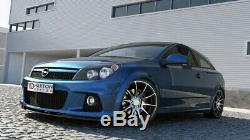 Cup Lip Spoiler Before Approach For Opel Astra H Opc / Black Vxr Nurburg
