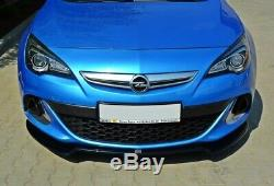Cup Lip Spoiler Before Approach For Opel Astra Opc / Vxr V. 2 Coal