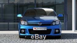 Cup Lip Spoiler Opel Astra H Opc / Vxr Nurburg Gloss Black