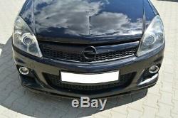 Cup Lip Spoiler Opel Astra H Opc / Vxr Nurburg Matte Black