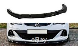 Cup Lip Spoiler Opel Astra Opc / Vxr 1 V. Schwarz Mat
