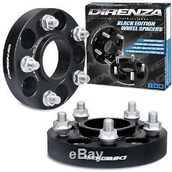 Direnza 5x115 25 MM Pair Spacer Wheel Alloy For Opel Astra Gtc J Vxr Tdi