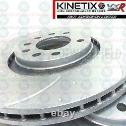 For Astra Vxr Nurburgring Front Disc Rainured Brake Mintex Pads 321mm