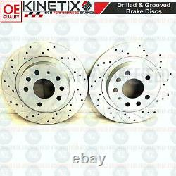 For Opel Astra H Vxr Rear Disc Curved Brake Perforated Brembo Skates 278mm