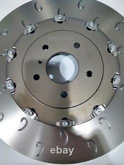 For Opel Astra J Gtc Mk6 Vxr Avant C-hook 2-piece Brake Discs - Mintex Skates