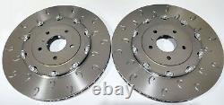 For Opel Astra J Gtc Mk6 Vxr Front C-hook 2-piece Brake Discs & Mintex Skates