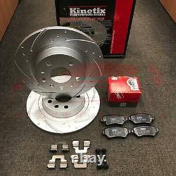 For Vauxhall Astra H 2.0 Vxr Turbo Brake Disc Trimmed Trimmed Trw Cushions
