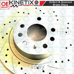 For Vauxhall Astra H Vxr Rear Disc Brake Curved Perforated Blisters Brembo