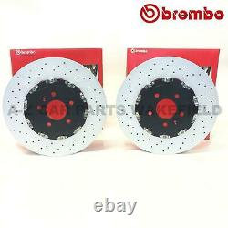 For Vauxhall Astra J Gtc Mk6 Vxr Front Perforated 2-piece Brembo Brake Pads