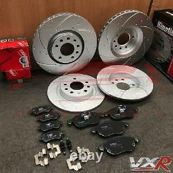 For Vauxhall Astra Vxr 2.0 Front Alveolar Back And Rainure Brake Discs Trw