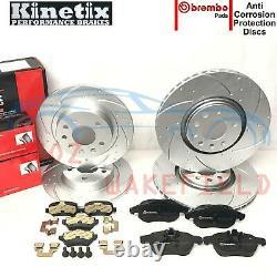For Vauxhall Astra Vxr 2.0 Turbo Front Rear Performance Brake Brembo Skates