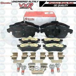 For Vauxhall Astra Vxr Front Rear Brembo Brake Pads Oem Set Fr Rr