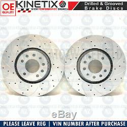 For Vauxhall Astra Vxr H Before Disc Brake Pads Brembo 321mm Grooved Perforated
