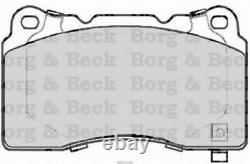Front - Rear Axle Frein Coussinets For Opel Astra Gtc Mk VI 2.0 Vxr 2012