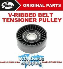 Gates V-rib Belt Tension Pull For Opel Astra Mk VI 2.0 Vxr 2012-2015