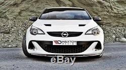 Lip Cup Spoiler Opel Astra Opc / Vxr Nuerburg Matte Black