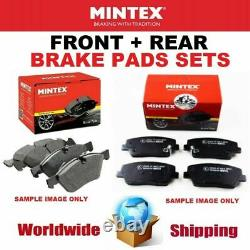 Mintex Front - Rear Axle Coussinets For Opel Astra Gtc Mk 2.0 Vxr 2012