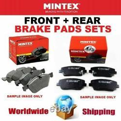 Mintex Front - Rear Axle Coussinets For Opel Astra Gtc Mk VI 2.0 Vxr 2012