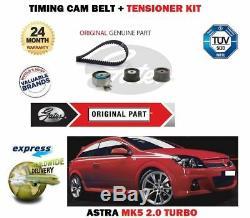 Mk5 For Opel Astra 2.0 Turbo Vxr 2004- Belt Tensioner + Distribution Kit