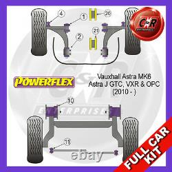 Mk6 Opel Astra Opc Astra Vxr And (on 10) Powerflex Complete Bush Kit
