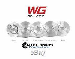 Mtec Front Brakes Set For Opel Astra H Vxr Mk5 2.0t Models Z20leh