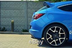 Near Rear Shutters Opel Astra Opc / Vxr Aspect Carbon