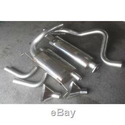 Opel Astra Gtc Vxr Piper 3.0 Ss Chat Rear Silencer System With 1