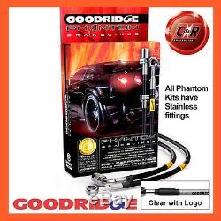 Opel Astra H Vxr 04-12 Goodridge Stainless Steel Clg Brake Hoses Sva1300-6c-clg
