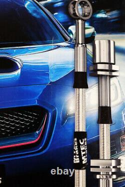 Opel Astra J Vxr 13 Steel Braided Brake Durites Zingued Mtec Performance