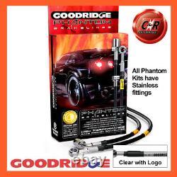 Opel Astra Mk5 2.0t Vxr 05-11 Ss Clg Goodridge Brake Durites Sva1300-6c-clg