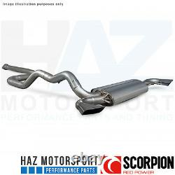 Opel Astra Vxr 12-17 Scorpion 3 Non-res Catback Exhaust Poli For Orig