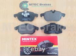 Opel Astra Vxr 2.0t Mk5 Front Back Disc Rainuré Brake Perforated Mintex Skates