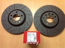Opel Astra Vxr Mk5 2.0t Before Mtec Black Edition Brake Discs And Pads 321mm