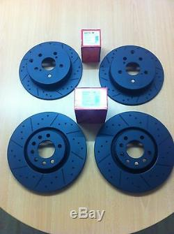 Opel Astra Vxr Mk5 2.0t Front Rear Mtec Black Edition Brake Discs And Pads
