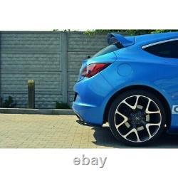 Parame Du Pare Chocs Arrière Opel Astra J Opc / Vxr Look Carbone