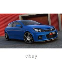 Pare-chocs Blade Before Opel Astra H (for Opc / Vxr) Gloss Black