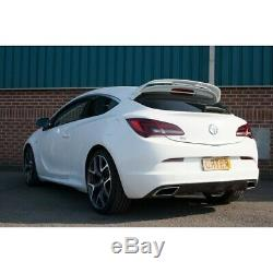 Scorpio Non-res Catback System For Opel Astra Vxr Not Gpf Models Svxs057