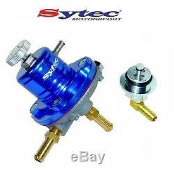 Sytec Sar Fuel Pressure Regulator + H Opel Astra Corsa Vxr Rail Adapter