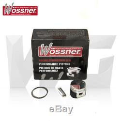 Wossner Forged Piston Set For Vauxhall Opel Astra H Mk5 Vxr Opc Z20leh 8.81